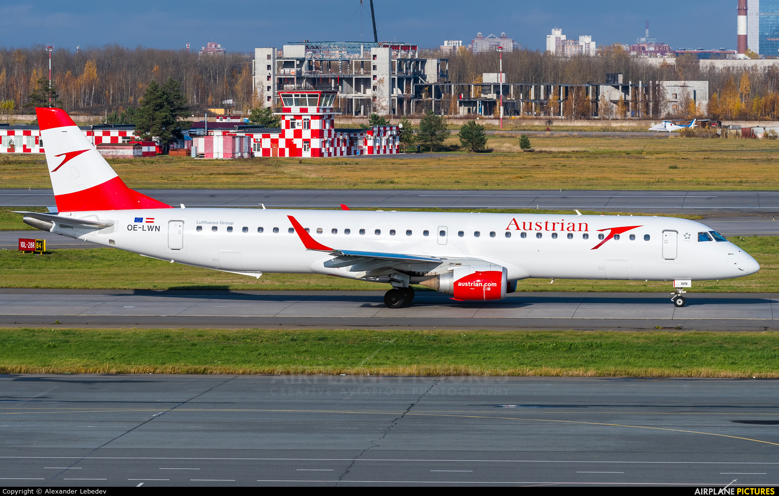 Austrian Airlines/Arrows/Tyrolean OE-LWN aircraft at St. Petersburg - Pulkovo