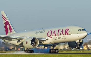 A7-BFR - Qatar Airways Cargo Boeing 777F