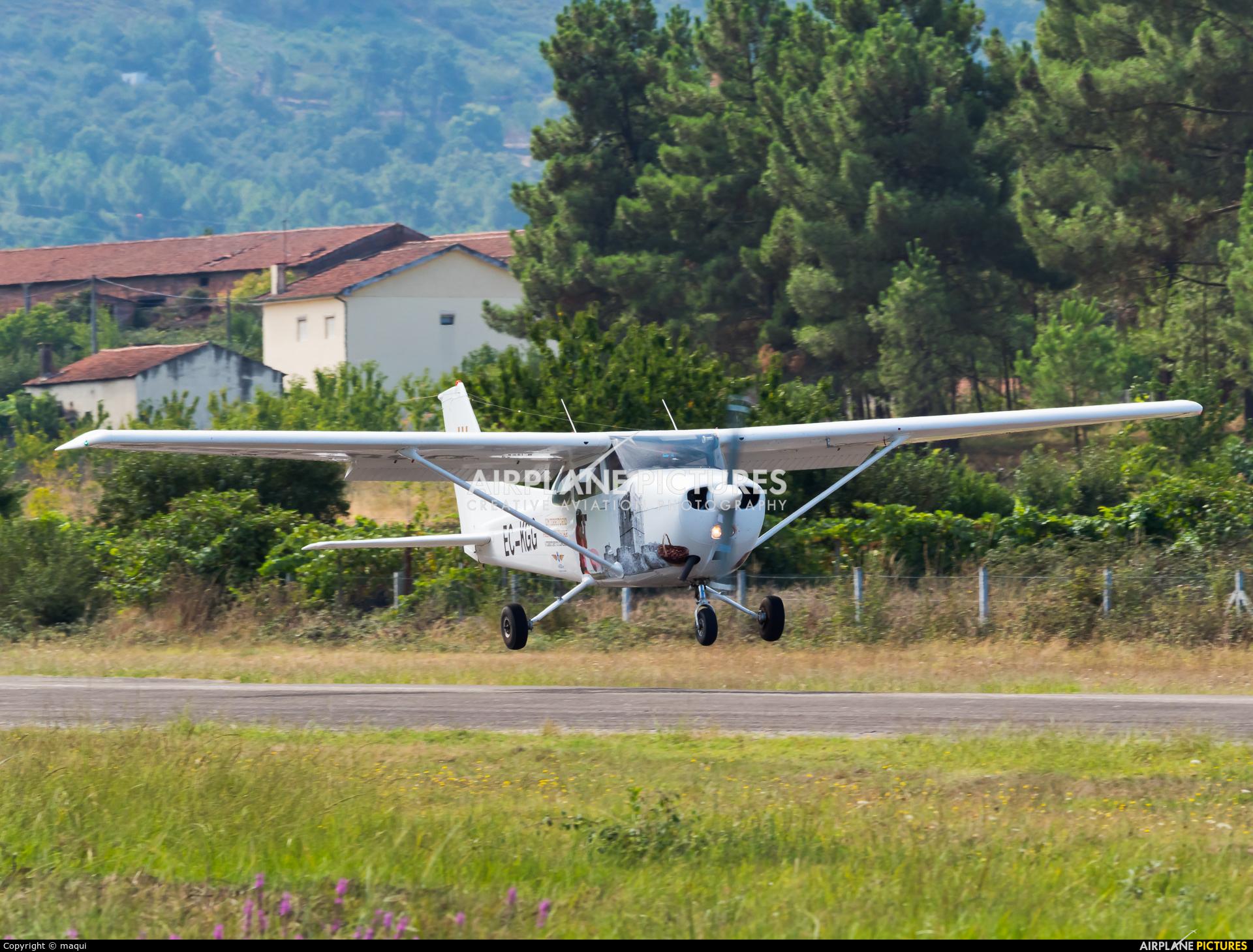 Aero Clube de Bragança EC-KGG aircraft at Chaves