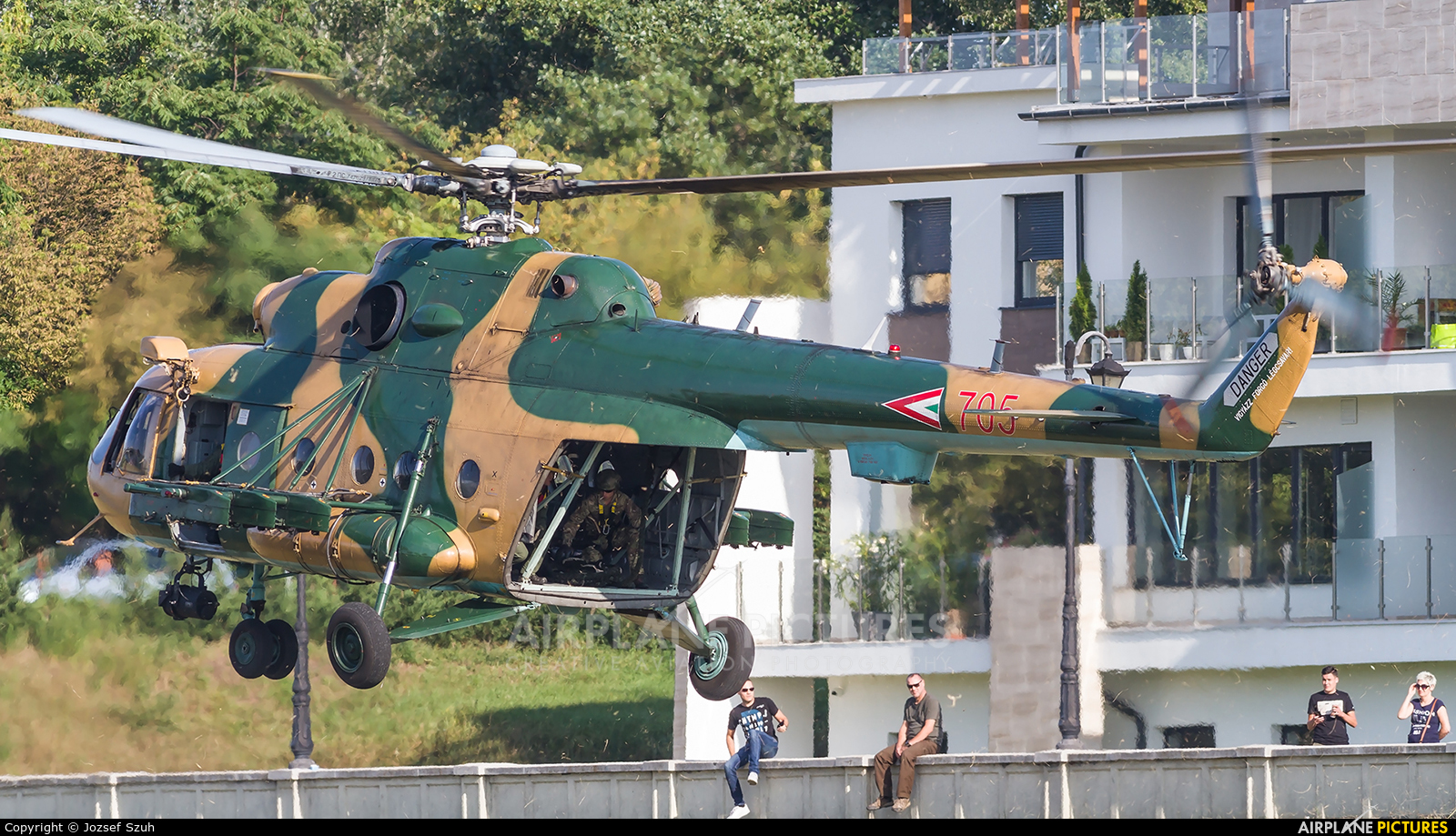 Hungary - Air Force 705 aircraft at Off Airport - Hungary
