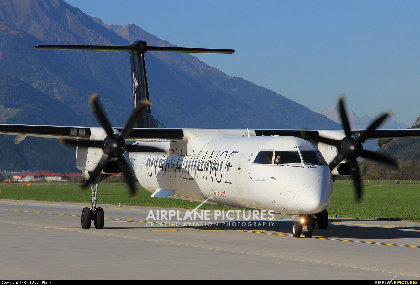 Austrian Airlines/Arrows/Tyrolean OE-LGP aircraft at Innsbruck