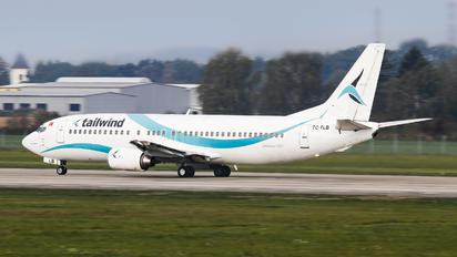 TC-TLB - Tailwind Airlines Boeing 737-400