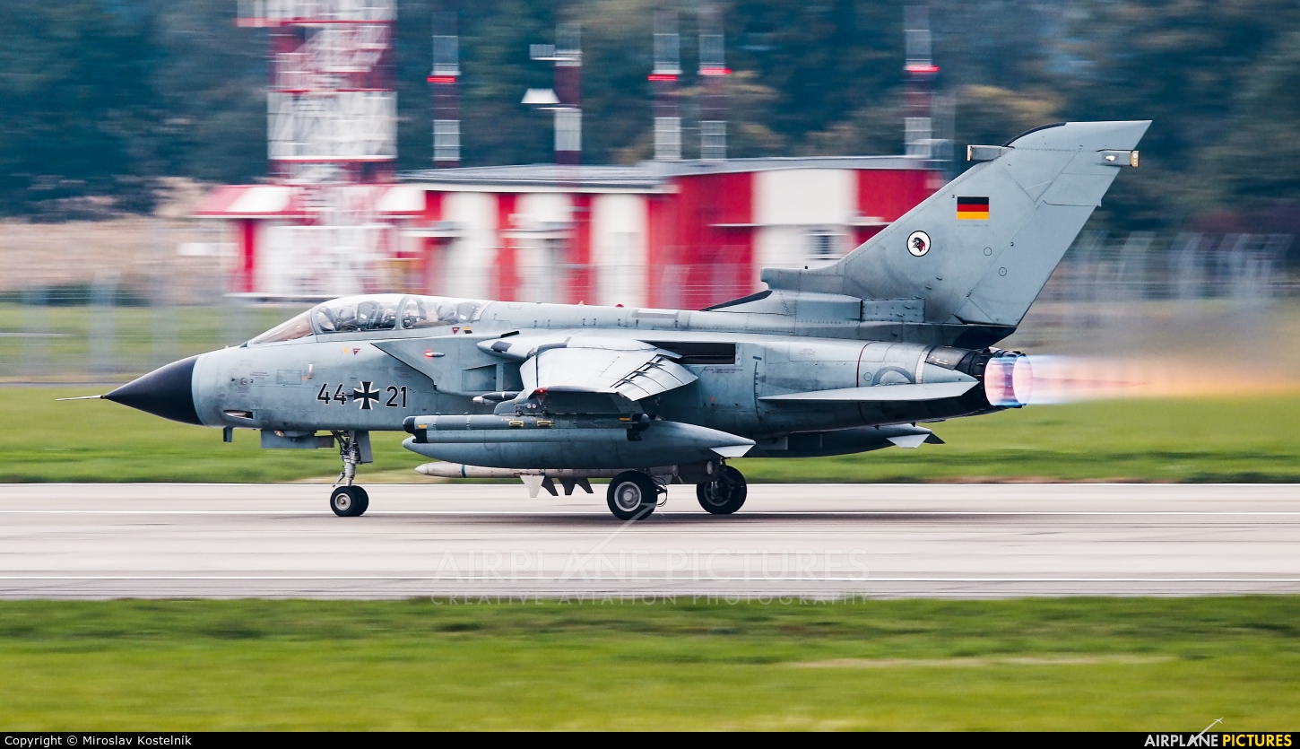Germany - Air Force 44+21 aircraft at Ostrava Mošnov