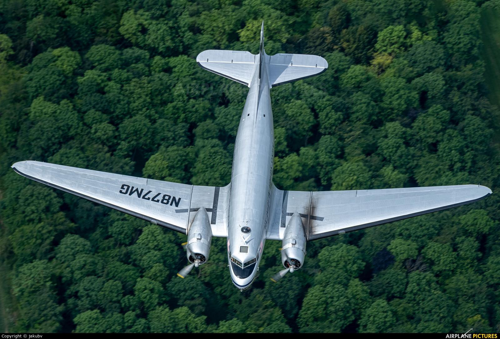 Historic Flight Foundation N877MG aircraft at In Flight - England