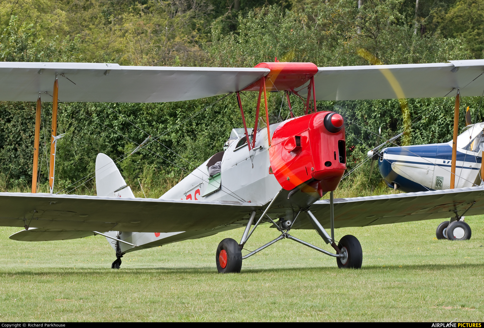 Private G-ERDS aircraft at Old Warden