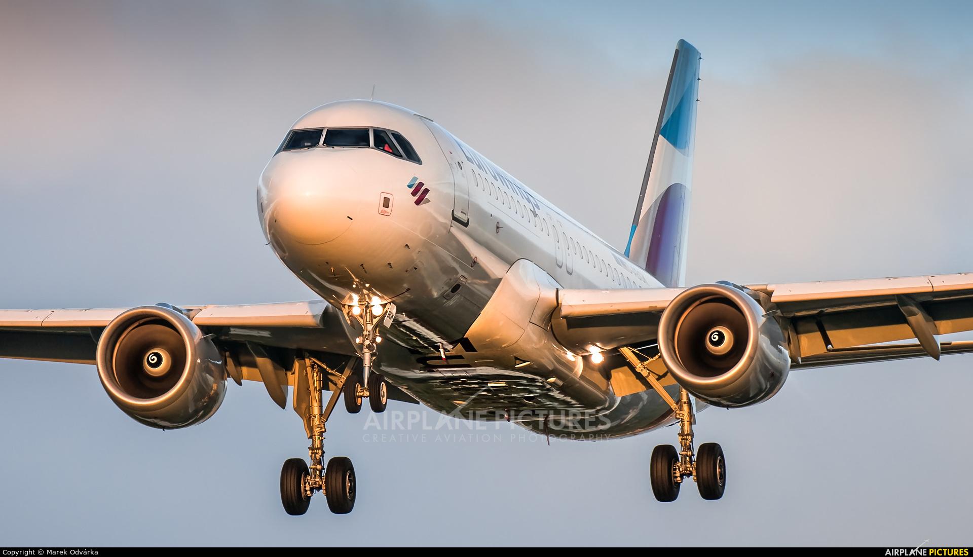 Eurowings D-ABGK aircraft at London - Heathrow