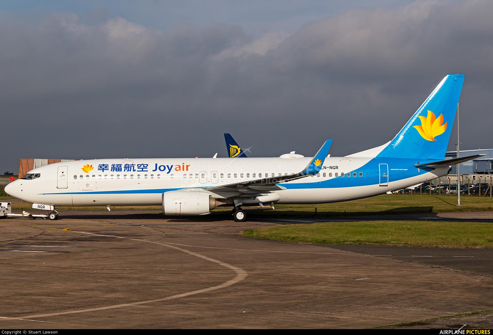 Joy Air LN-NGR aircraft at East Midlands