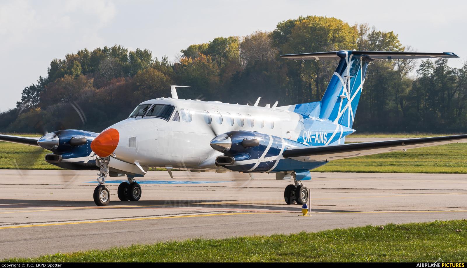 CAA - Czech Aviation Authority OK-ANS aircraft at Pardubice