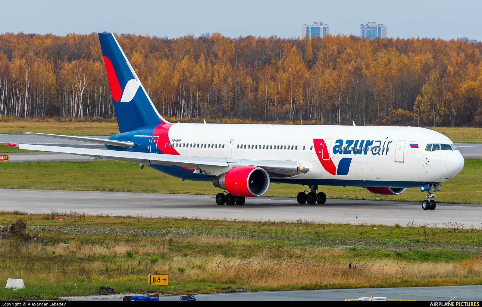 AzurAir VQ-BUP aircraft at St. Petersburg - Pulkovo