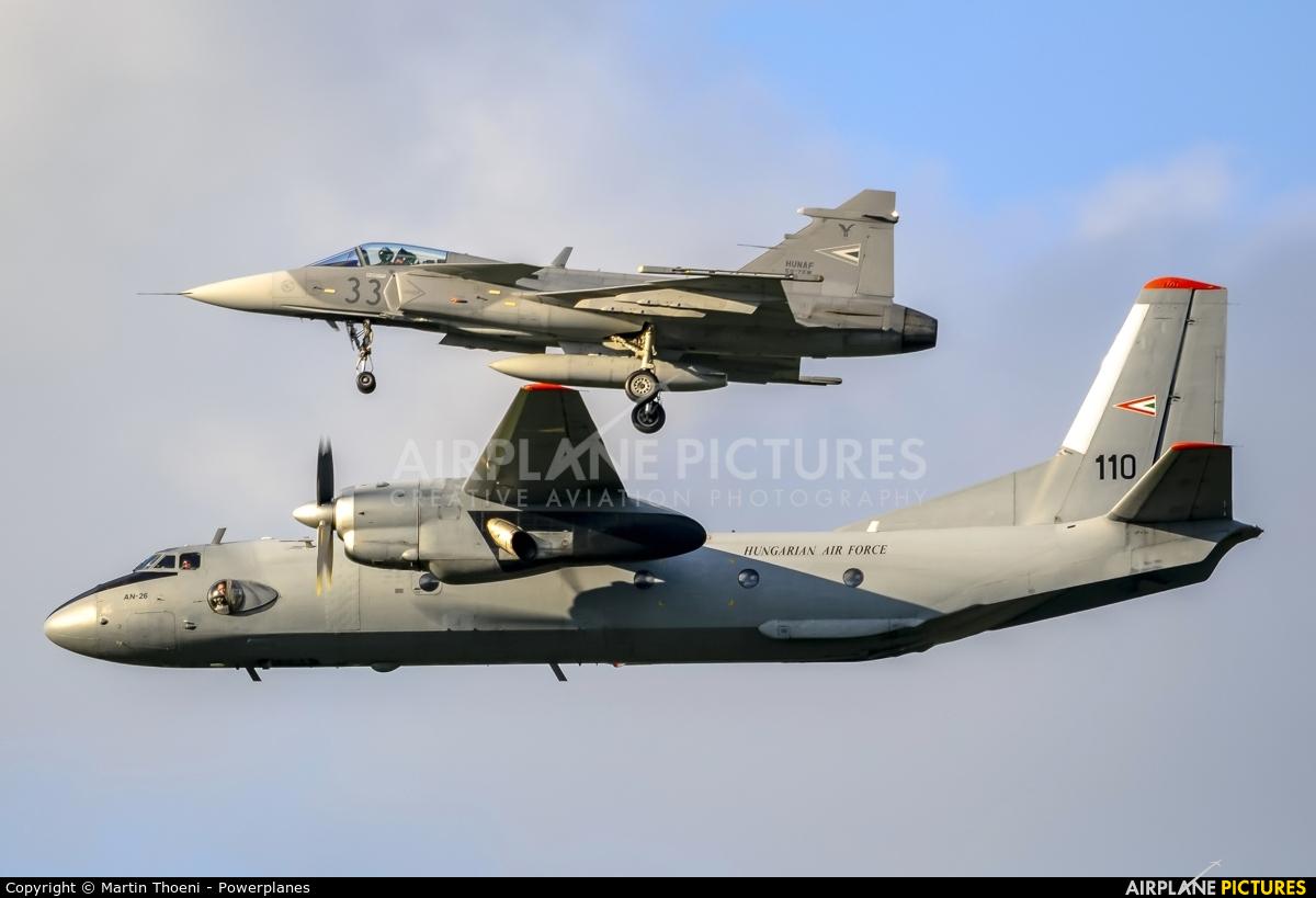 Hungary - Air Force 110 aircraft at Kecskemét
