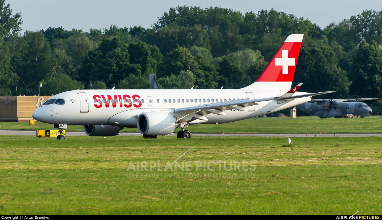 Swiss HB-JBD aircraft at Kraków - John Paul II Intl