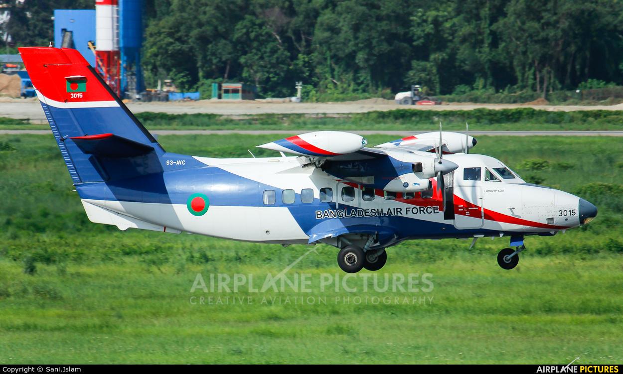 Bangladesh - Air Force S3-AVC aircraft at Dhaka - Hazrat Shahjala Intl