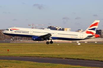 G-EUXM - British Airways Airbus A321