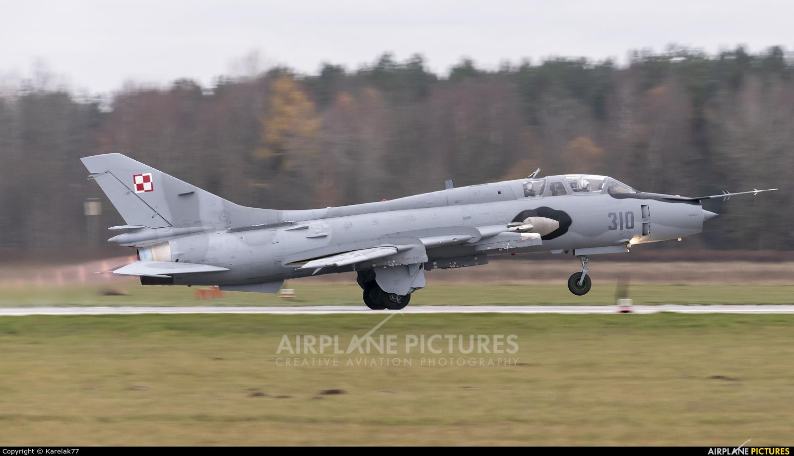 Poland - Air Force 310 aircraft at Świdwin