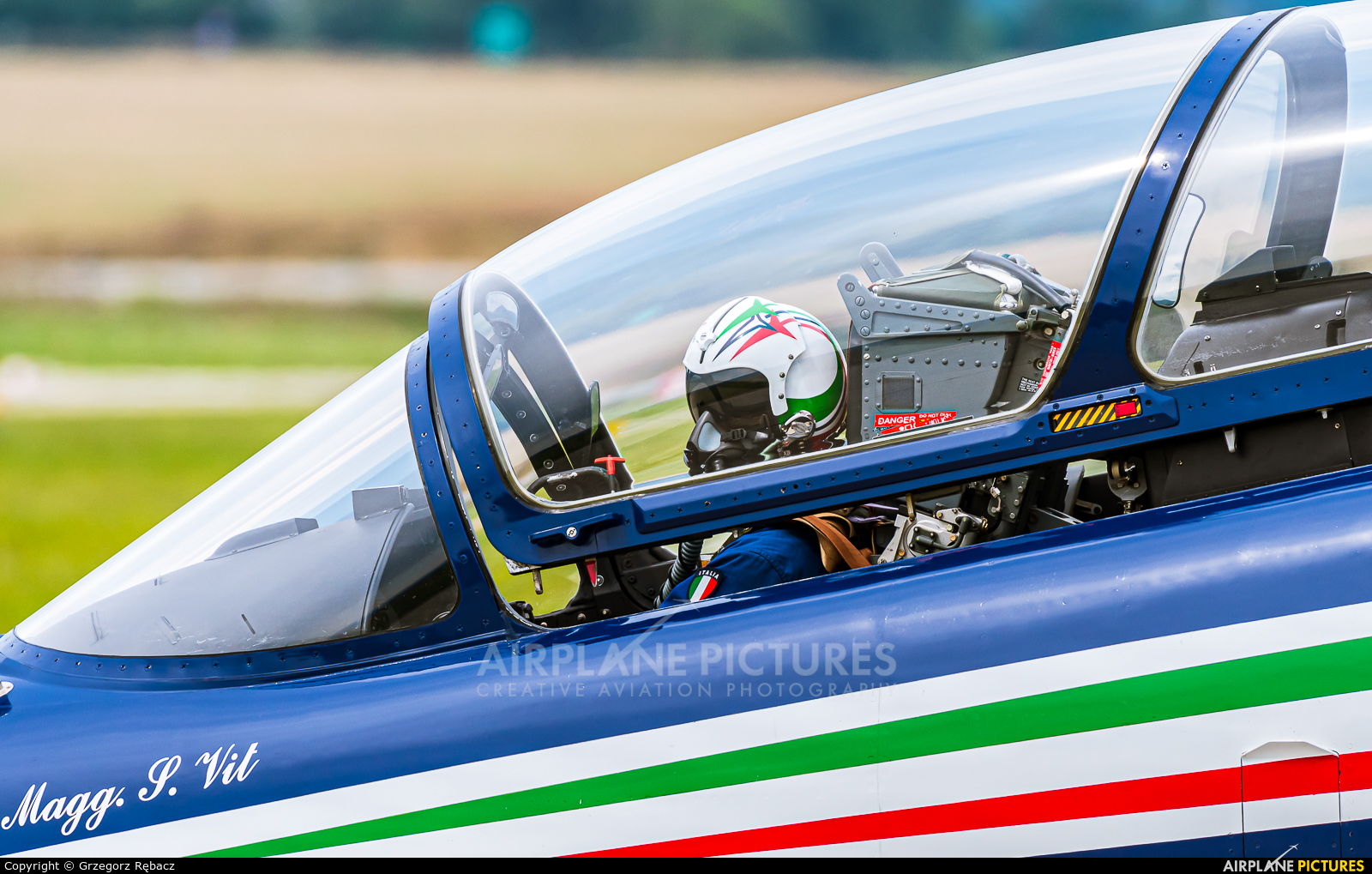 """Italy - Air Force """"Frecce Tricolori"""" MM54551 aircraft at Sliač"""