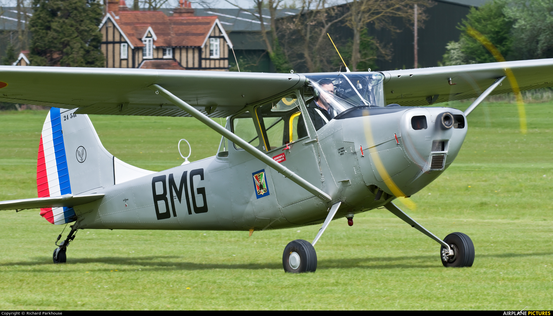 Private G-JDOG aircraft at Old Warden