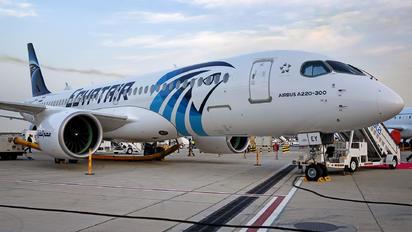 SU-GEY - Egyptair Airbus A220-300