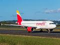 Iberia Express Airbus A320 EC-LLE at Santiago de Compostela airport