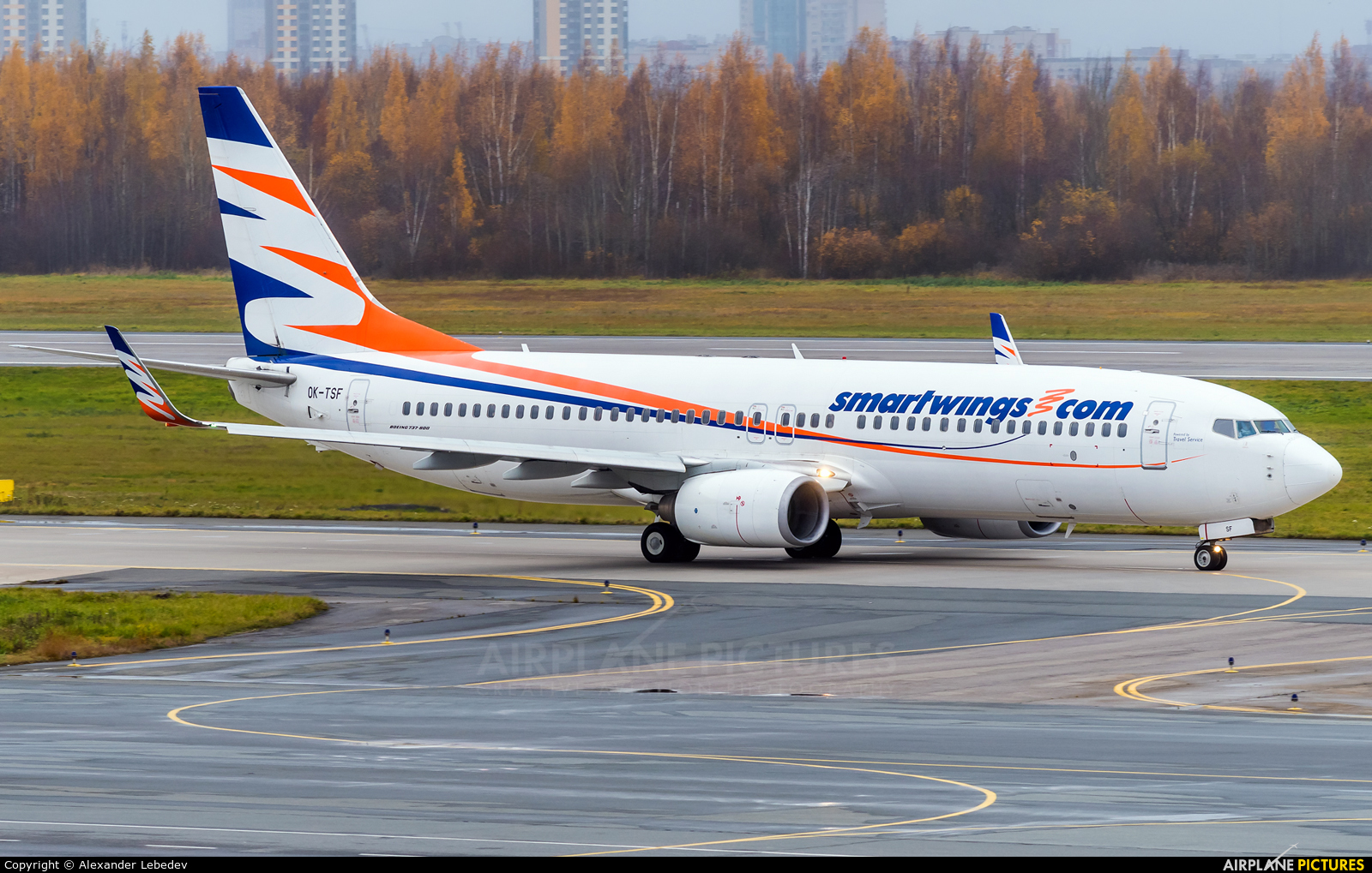 SmartWings OK-TSF aircraft at St. Petersburg - Pulkovo