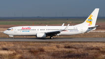 Sun d'Or Boeing 737 visited Craiova title=