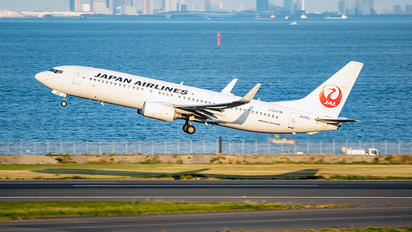 JA316J - JAL - Japan Airlines Boeing 737-800
