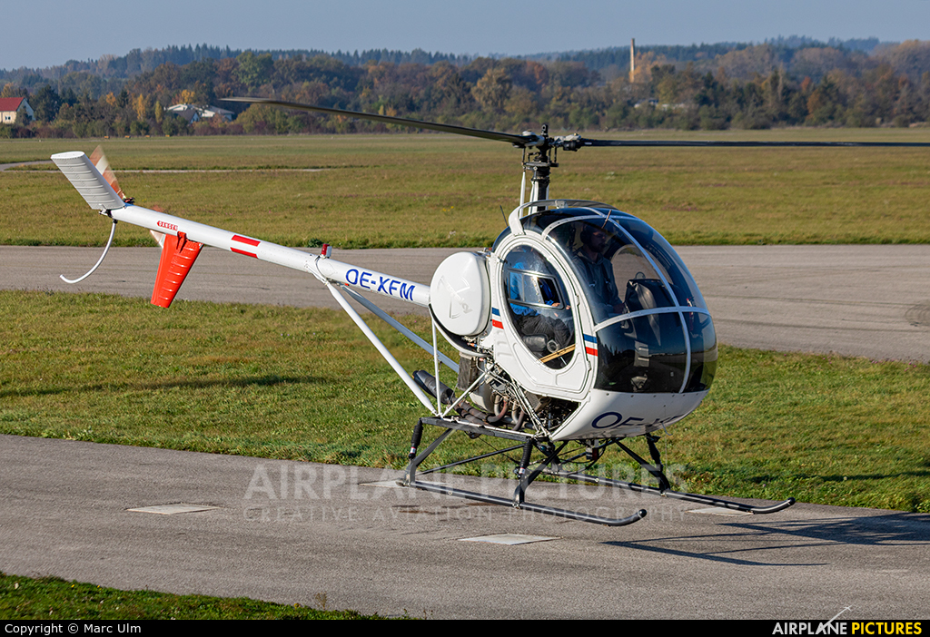 Private OE-XFM aircraft at Wels