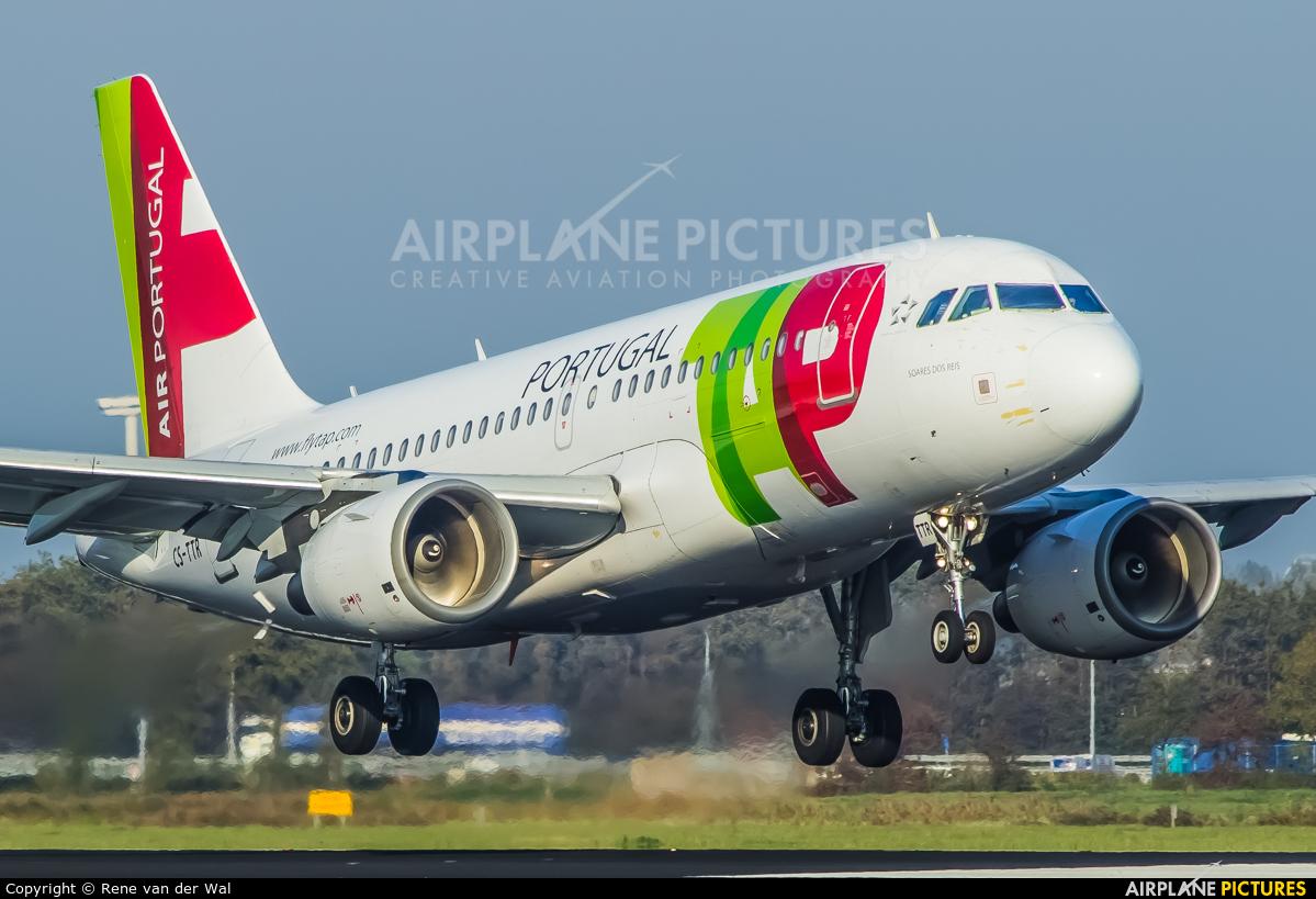 TAP Portugal CS-TTR aircraft at Amsterdam - Schiphol