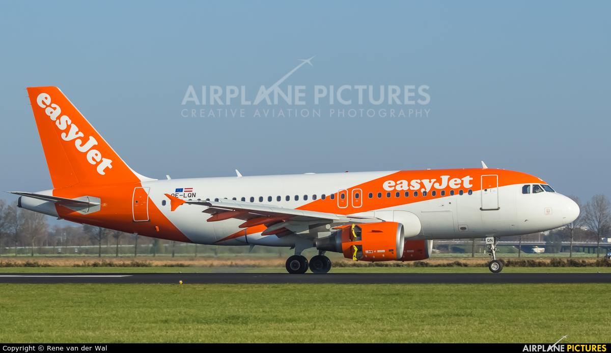 easyJet Europe OE-LQN aircraft at Amsterdam - Schiphol