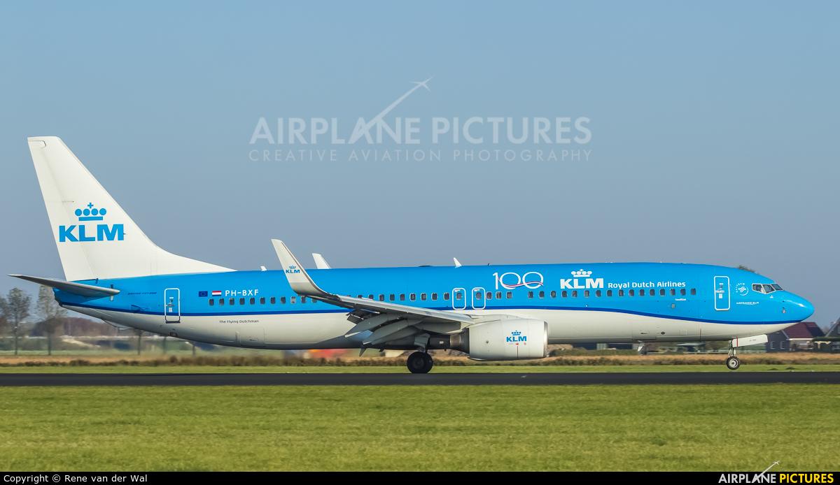 KLM PH-BXF aircraft at Amsterdam - Schiphol