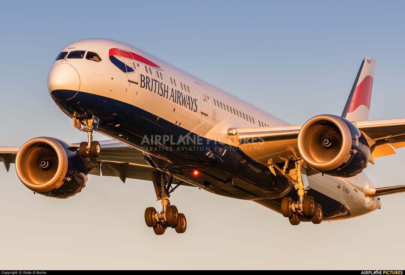 British Airways G-ZBKP aircraft at London - Heathrow