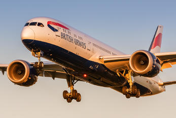 G-ZBKP - British Airways Boeing 787-9 Dreamliner