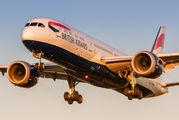 G-ZBKP - British Airways Boeing 787-9 Dreamliner aircraft