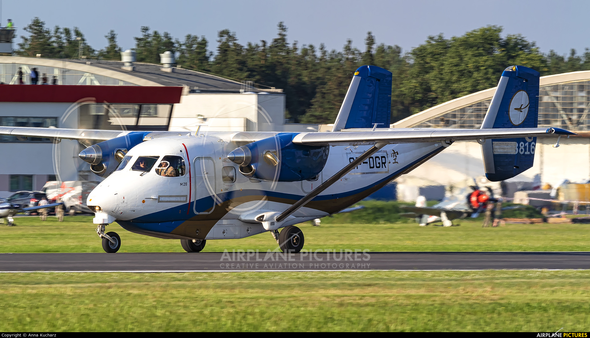 PZL Mielec SP-DGR aircraft at Mielec