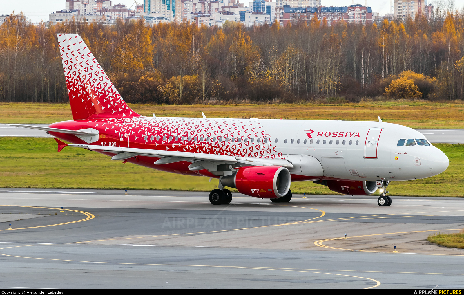 Rossiya VP-BQK aircraft at St. Petersburg - Pulkovo