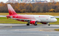 VP-BQK - Rossiya Airbus A319 aircraft