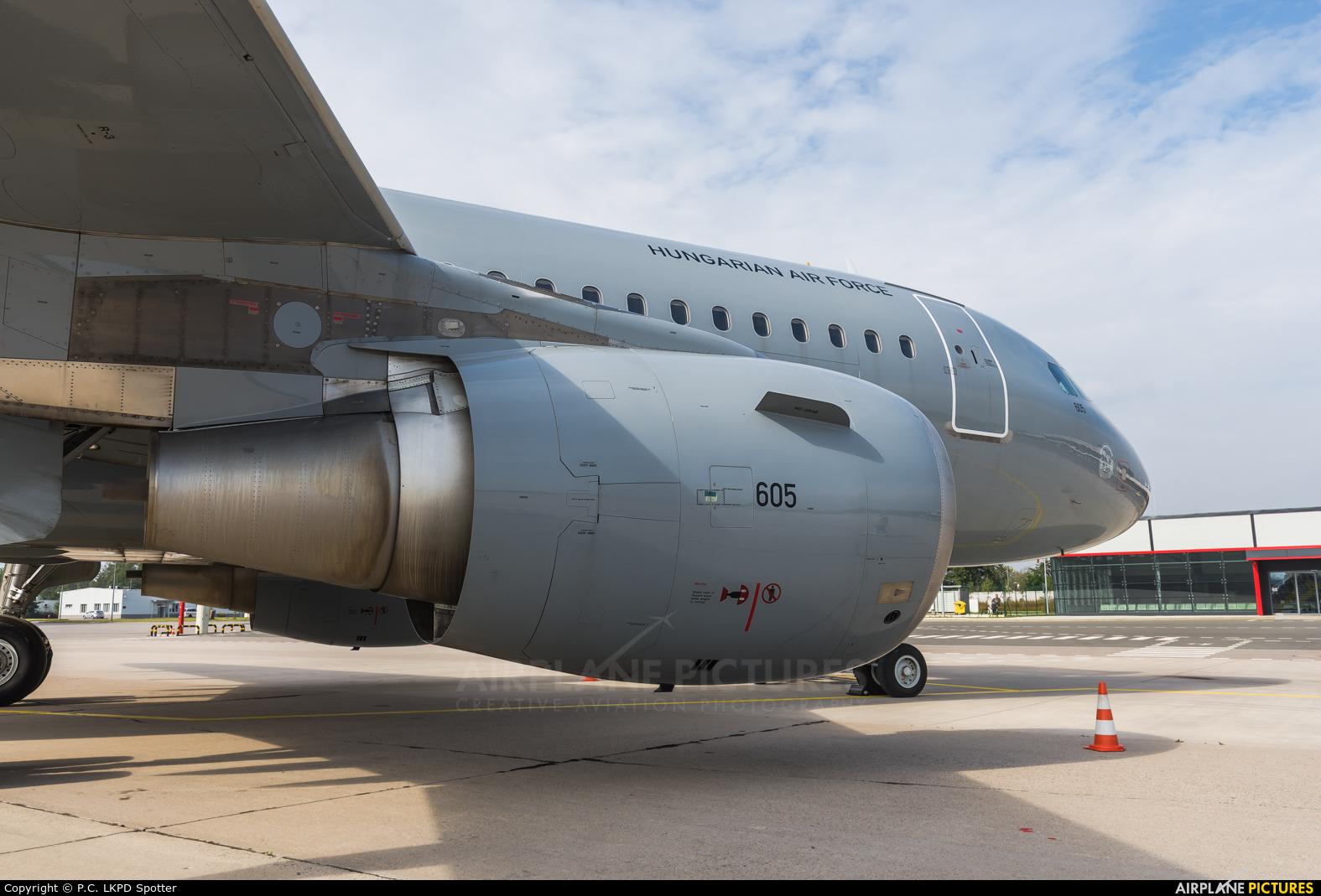 Hungary - Air Force 605 aircraft at Pardubice