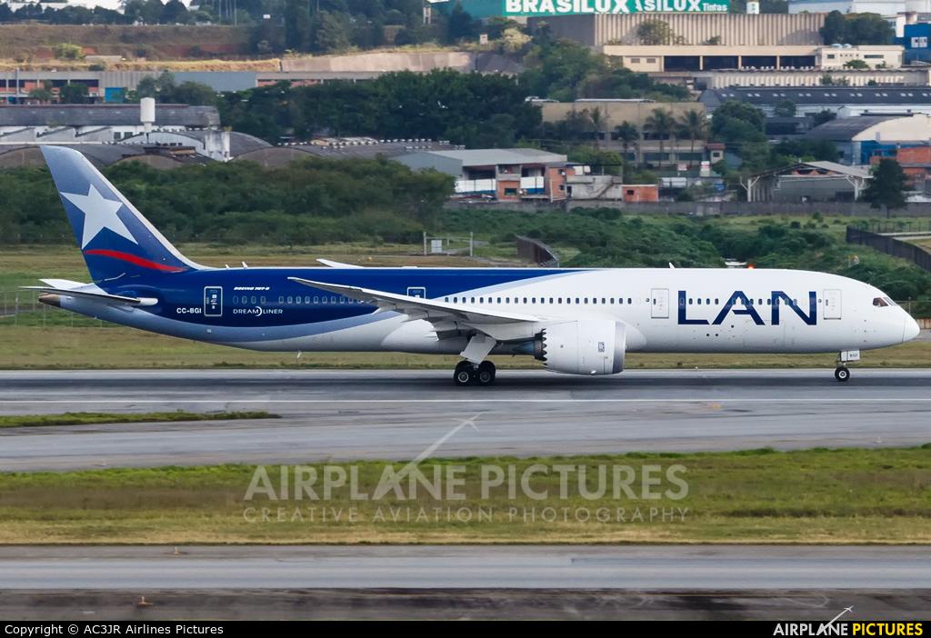 LAN Airlines CC-BGI aircraft at São Paulo - Guarulhos