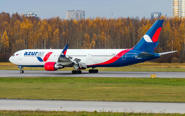 VP-BUX - AzurAir Boeing 767-300ER