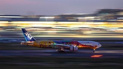 JA741A - JAL - Japan Airlines Boeing 777-200