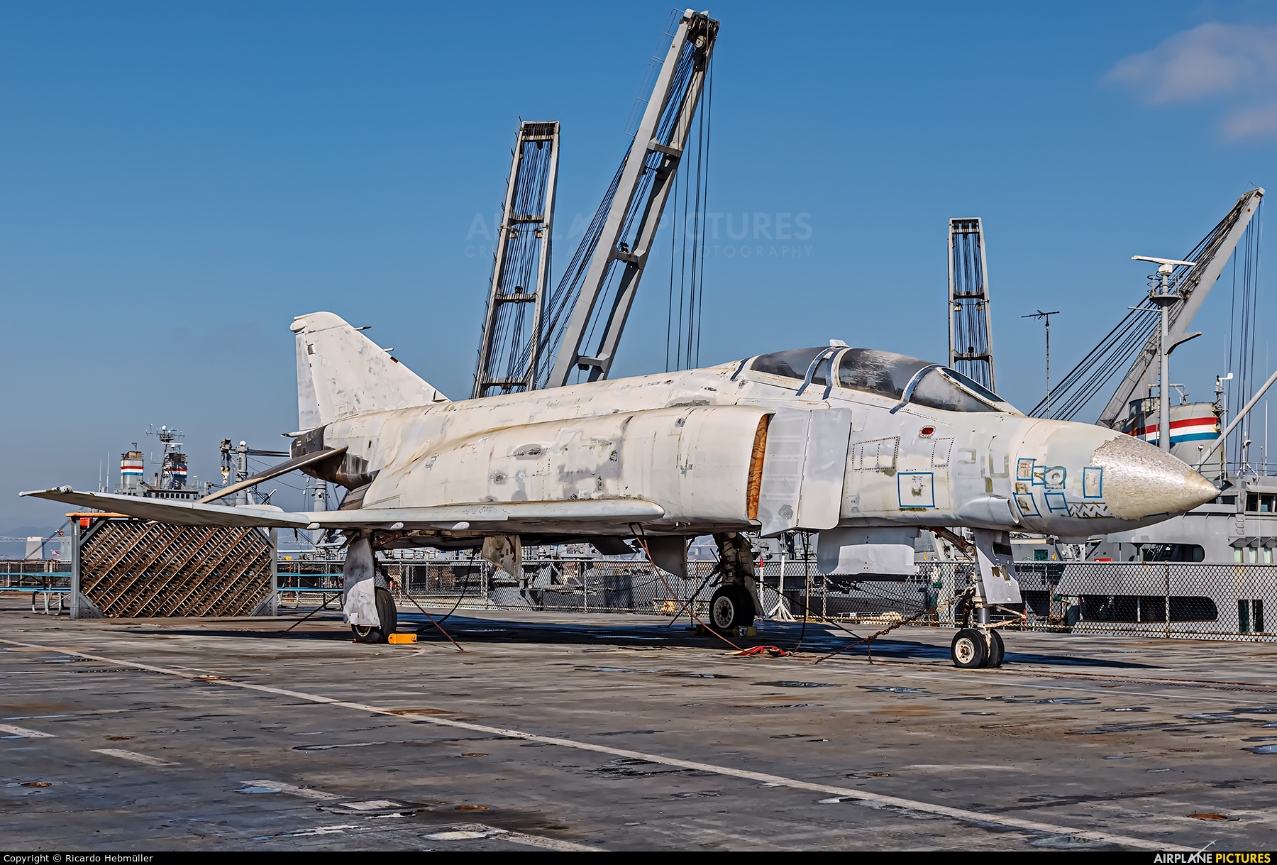 USA - Navy 153879 aircraft at Alameda - USS Hornet Museum