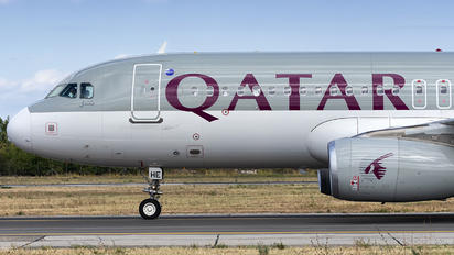 A7-AHE - Qatar Airways Airbus A320