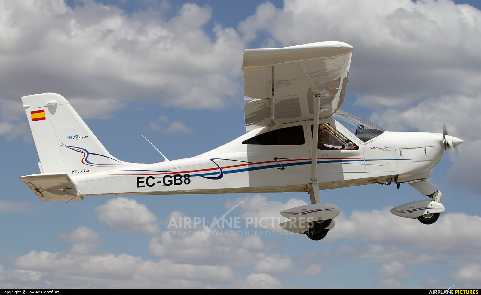 Private EC-GB8 aircraft at Totana