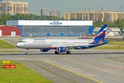 VP-BAZ - Aeroflot Airbus A321 aircraft