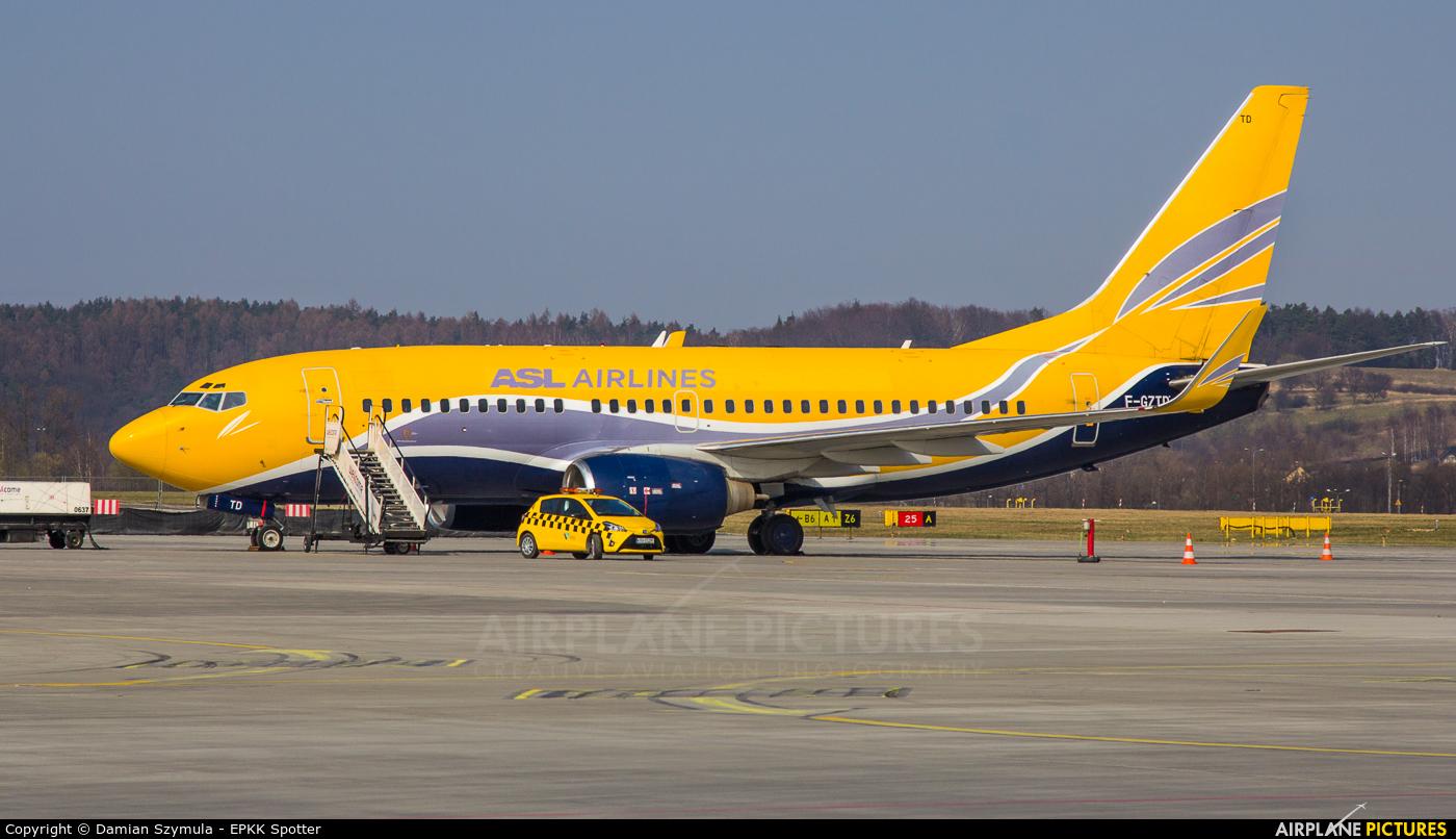 ASL Airlines F-GZTD aircraft at Kraków - John Paul II Intl