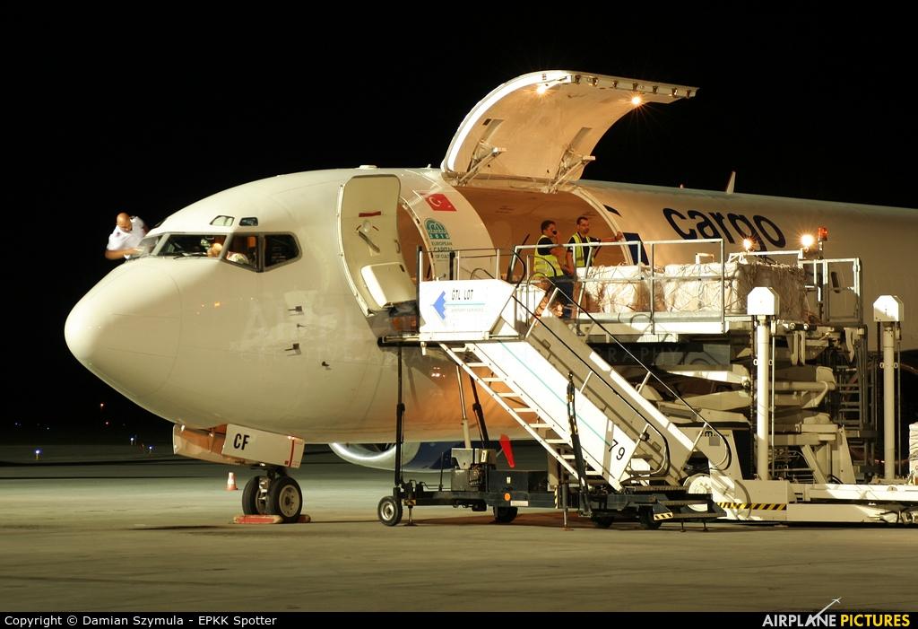 MNG Cargo TC-MCF aircraft at Katowice - Pyrzowice