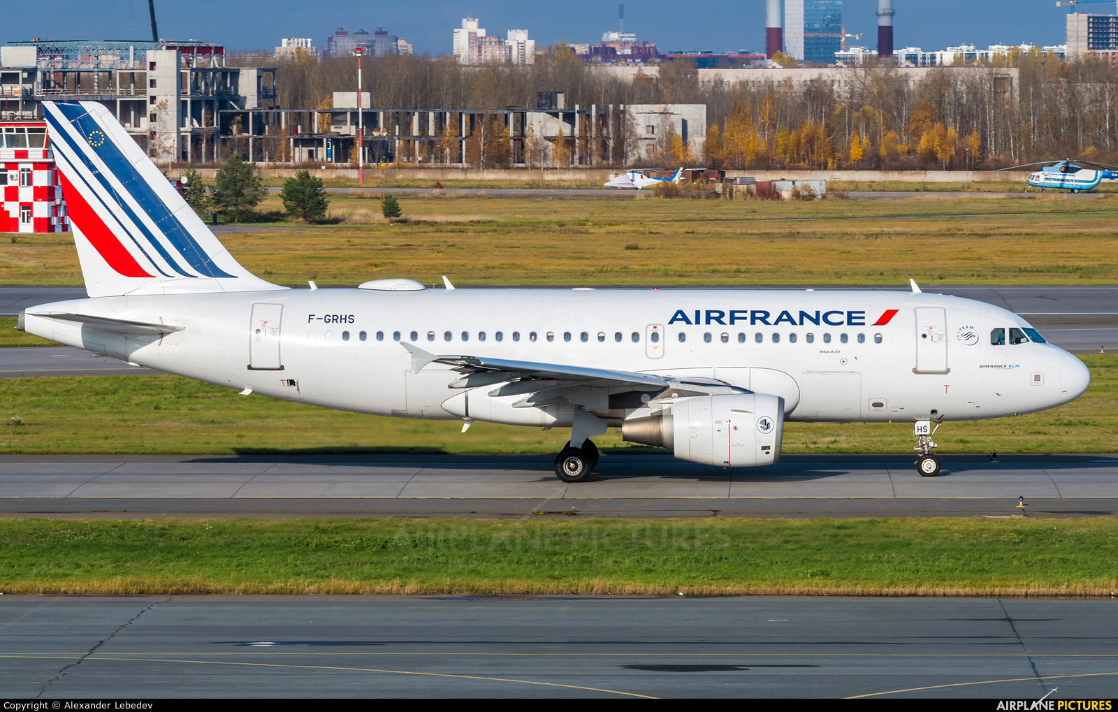 Air France F-GRHS aircraft at St. Petersburg - Pulkovo