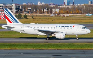 F-GRHS - Air France Airbus A319