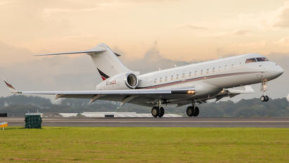 N116QS - Netjets (USA) Bombardier BD-700 Global 5000