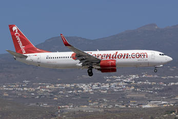 TC-TJP - Corendon Airlines Boeing 737-800