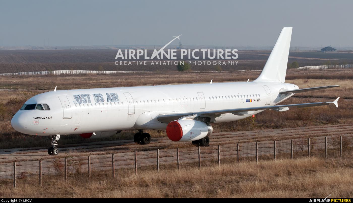 Just US Air YR-NTS aircraft at Craiova